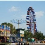 Колесо обозрения — высокий аттракцион в Севастополе