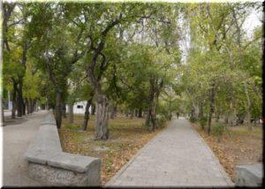 Матросский парк в Феодосии