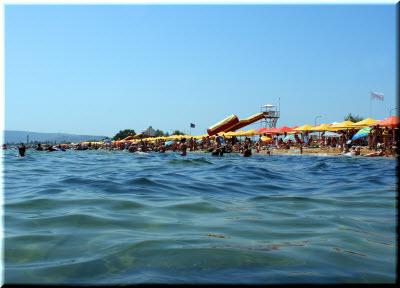 море возле пляжа 117 в Береговом