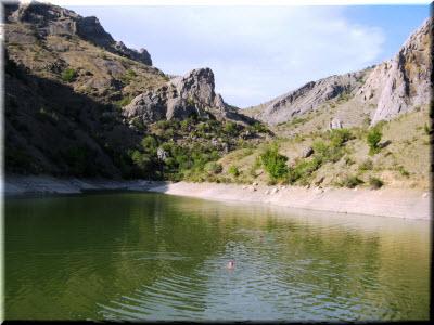 отдых в озере Панагия