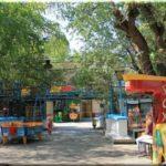 Аттракционы и развлечения в парке на Историческом бульваре