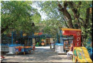 парк аттракционов на Историческом бульваре