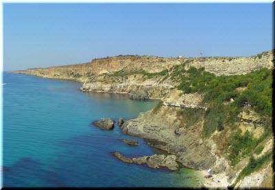 пляж на Виноградном мысе