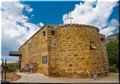 церковь Ильи в Солнечной Долине