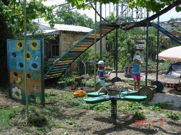 Частная усадьба «Виноградный рай» в Малореченском