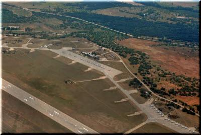 фото аэропорта Бельбек с высоты