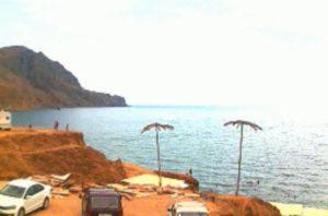 фото с камеры на пляже Меганома