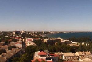фото с обзорной веб-камеры Феодосии