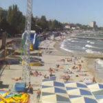 Онлайн камера на городском пляже Камешки в Феодосии