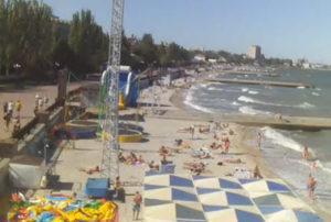 фото с пляжа Камешки