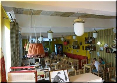 фото внутри кафе Победа