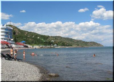 на пляже Сатеры