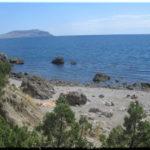 пляж Черепашка в Судаке
