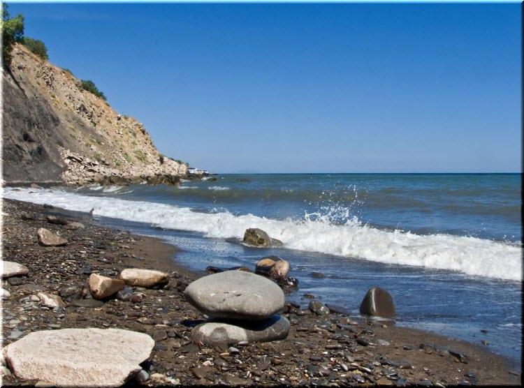 дикие пляжи в Солнечногорском