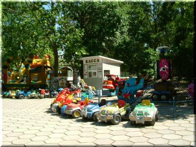 фото детский аттракционов в парке