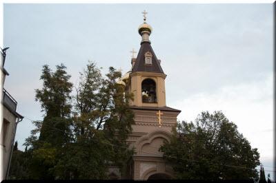 фото храмовой колокольни