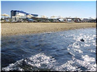 фото пляжа Аквамарин