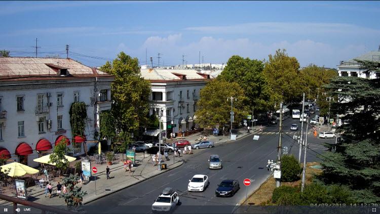 фото с камеры на площади Лазарева