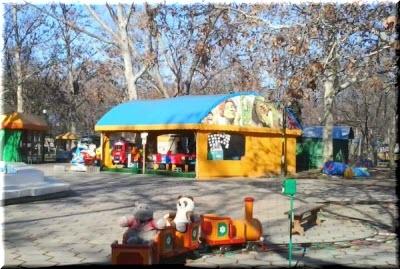 фото в Детском парке Севастополя
