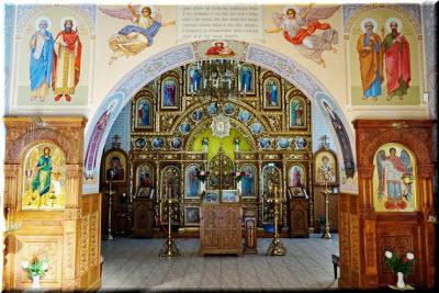 фото внутри Церкви Архистратига Михаила