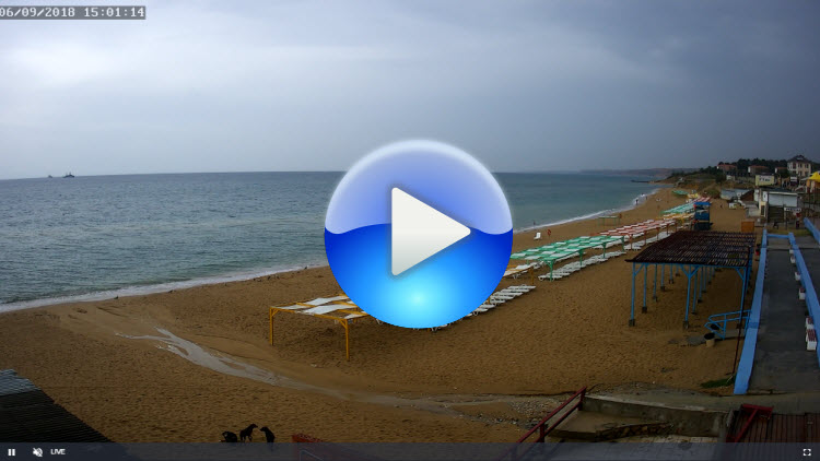 веб-камера 1 на пляже Учкуевка