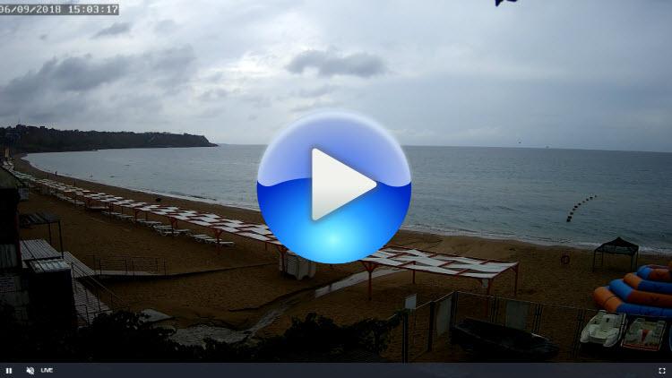 веб-камера 2 на пляже Учкуевка