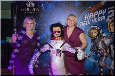 новый год в отеле Голден