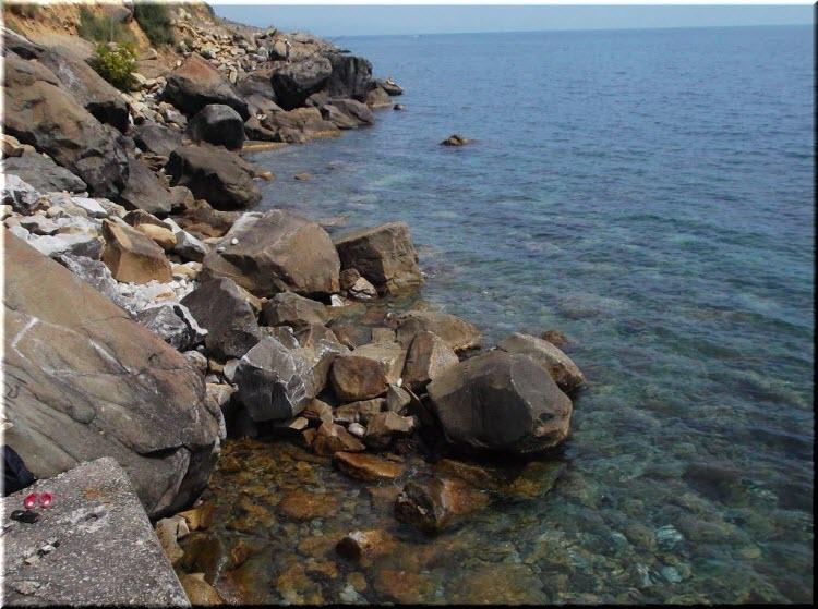 пляж Голубовские камни