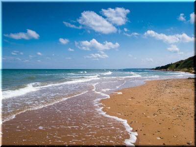 у крымских берегов Азова