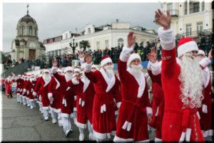 фото с Мороз-парада 2017