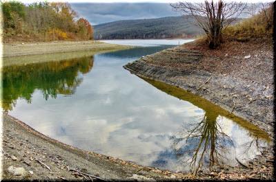 фото у Загорского водохранилища
