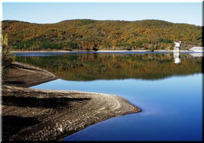 фото Загорского водохранилища
