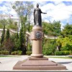 Памятник императрице Екатерине II в Севастополе