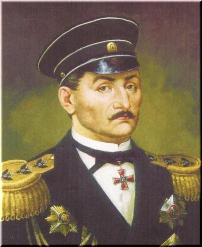 портрет адмирала Нахимова