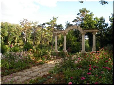 арка в Курортном парке