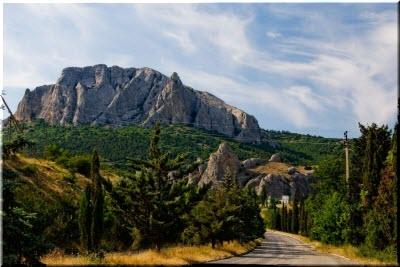 дорога на Щебетовку