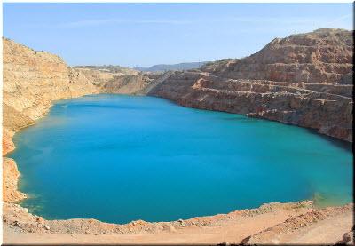 фото Карьерного озера вблизи