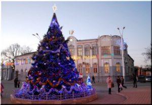 фото с Нового 2018 года в Евпатории