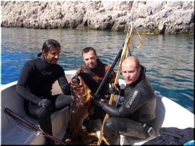 подводные охотники у Севастополя