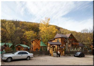 ресторан Лесная сказка в Перевальном