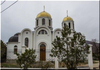 Вознесенский храм в Щебетовке