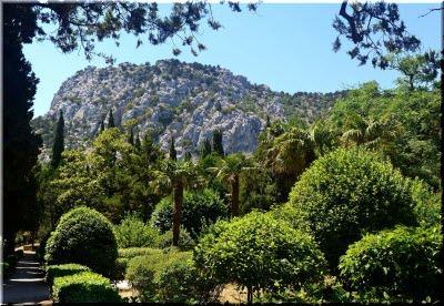 фото парка в Симеизе