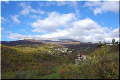 фото поселка Лучистое