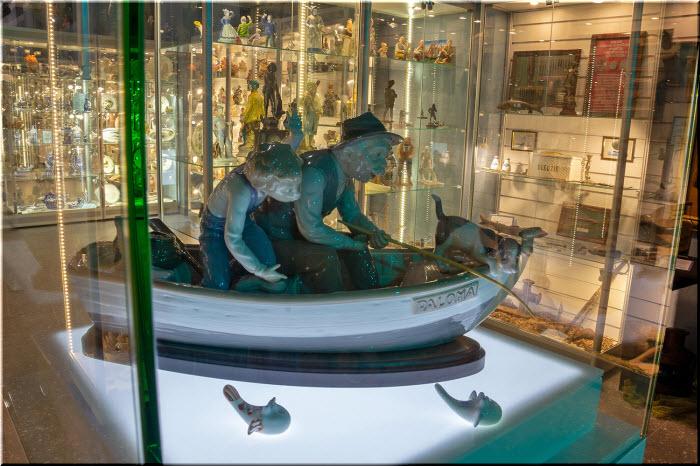 фото в Музее рыболовства и рыбы