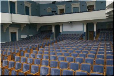 фото внутри театра Черноморского флота
