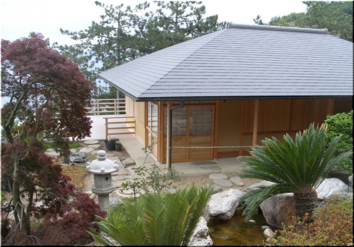 фото японского домика