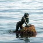 Памятник Русалке в Крыму
