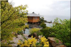 Японский сад в парке Айвазовского