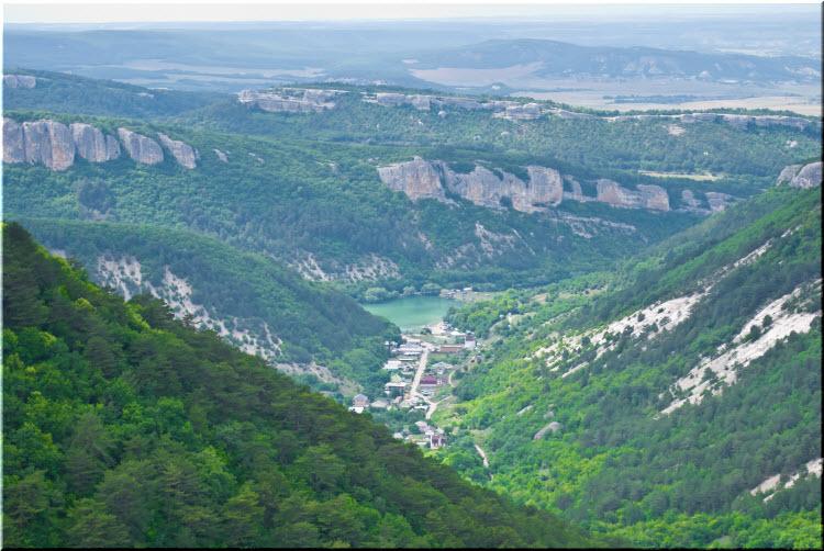 фото Ходжа-Сала с высоты