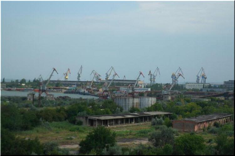 фото порта Камыш-Бурун